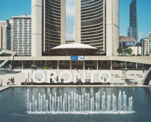 Downtown Toronto City Hall
