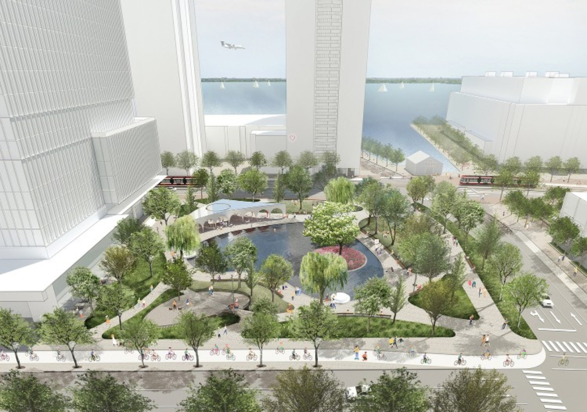 Toronto Waterfront Love Park