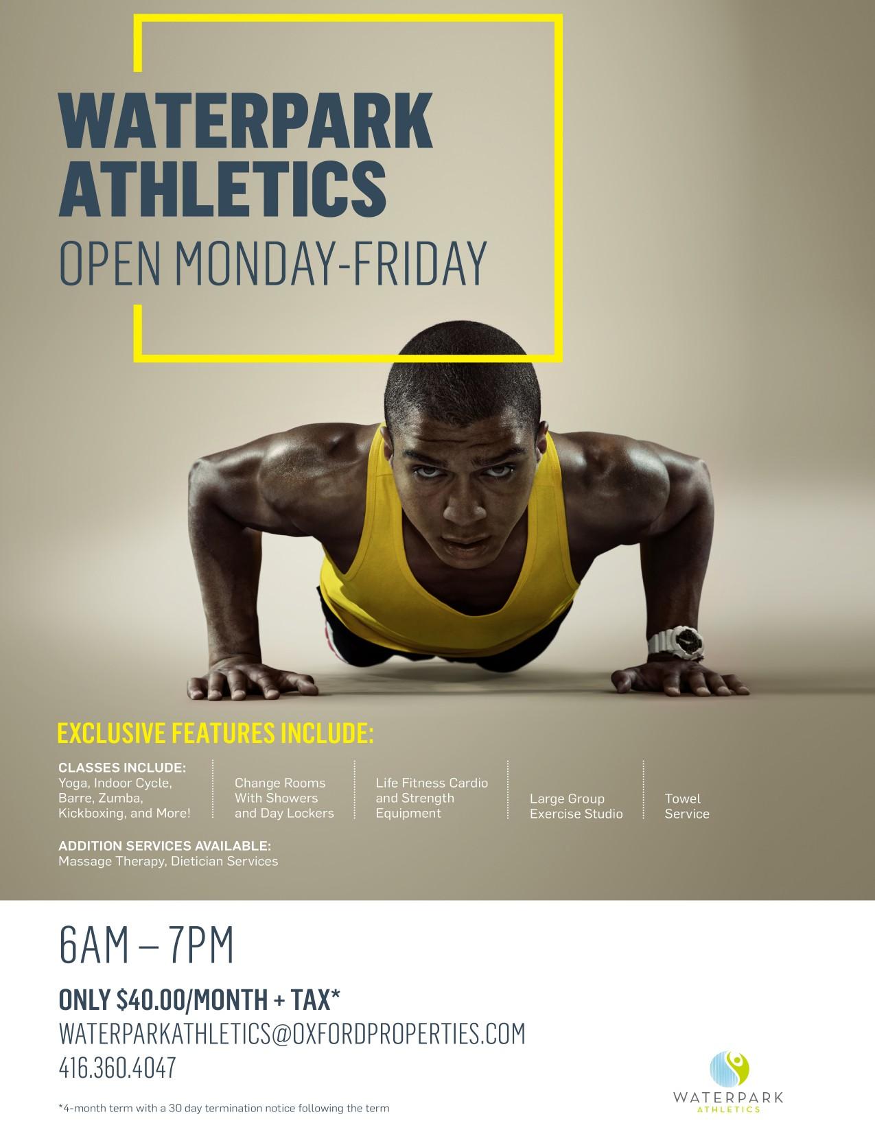 Waterpark Athletics Advertisement