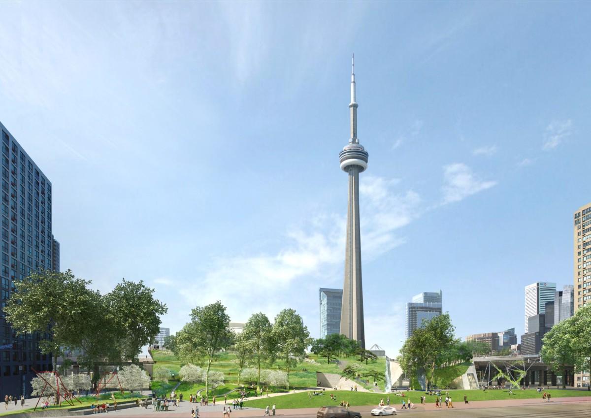 Toronto Waterfront Rees Ridge Park