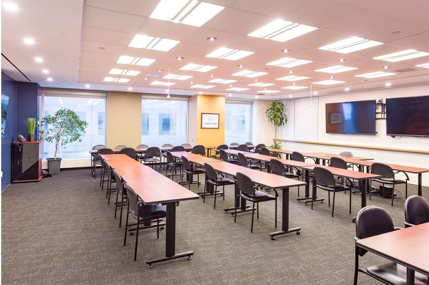 Rainy Lake Classroom layout