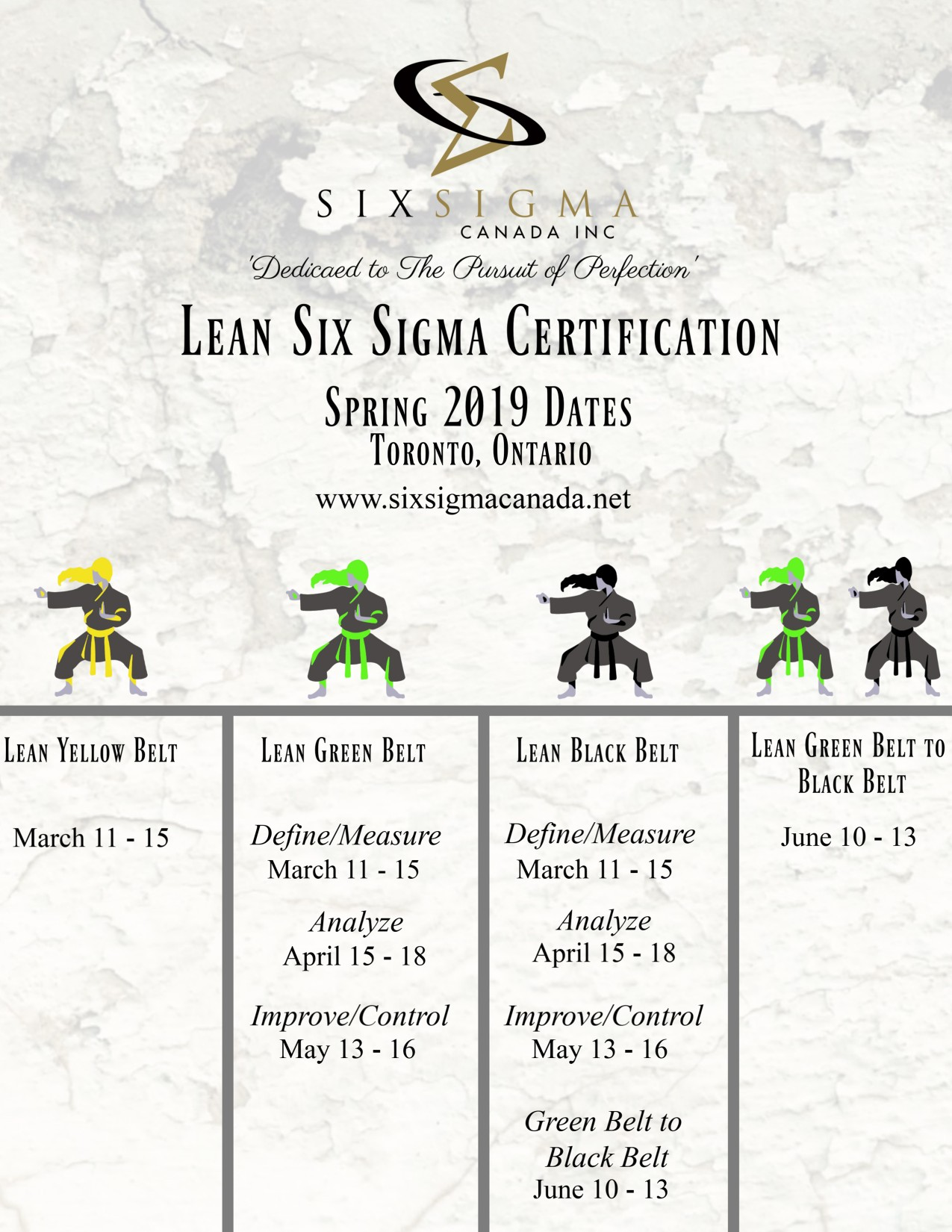 Six Sigma Canada Advertisement