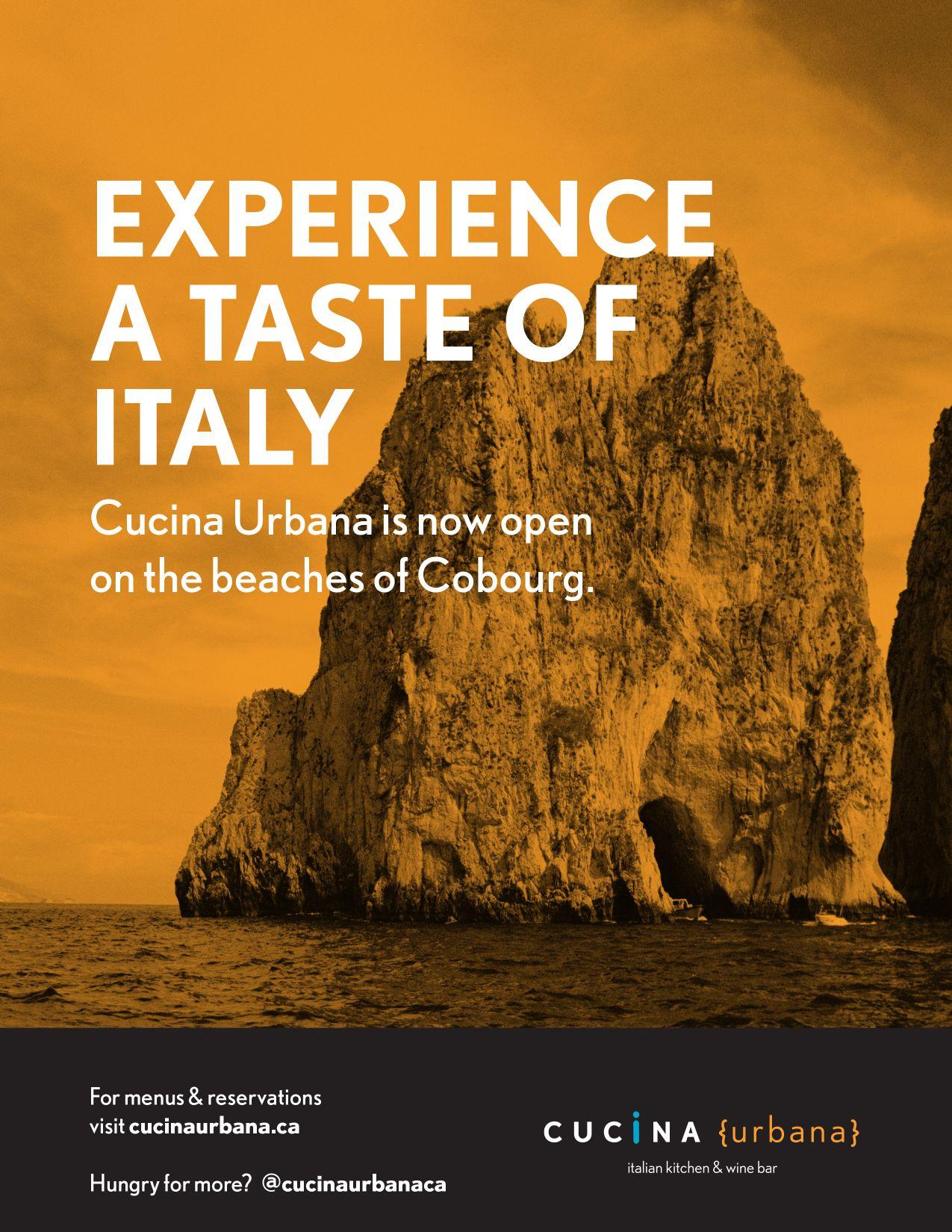 Cucina Urbana The Scoop Advertisement