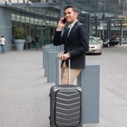 Travelling Salesman at Airport
