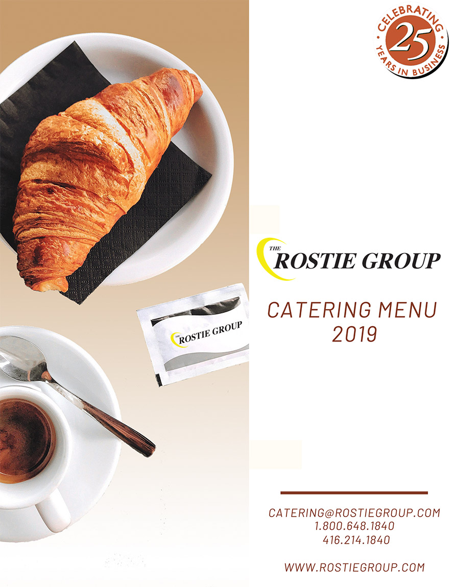 Toronto Meetings Full Catering Menu 2019