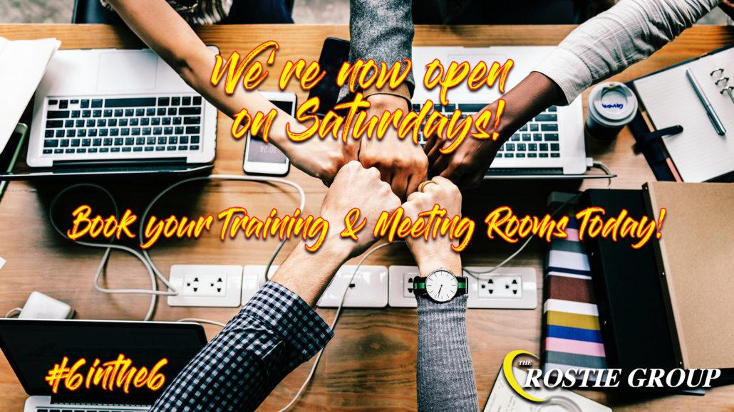 Rostie Group Open on Saturdays Scoop Ad