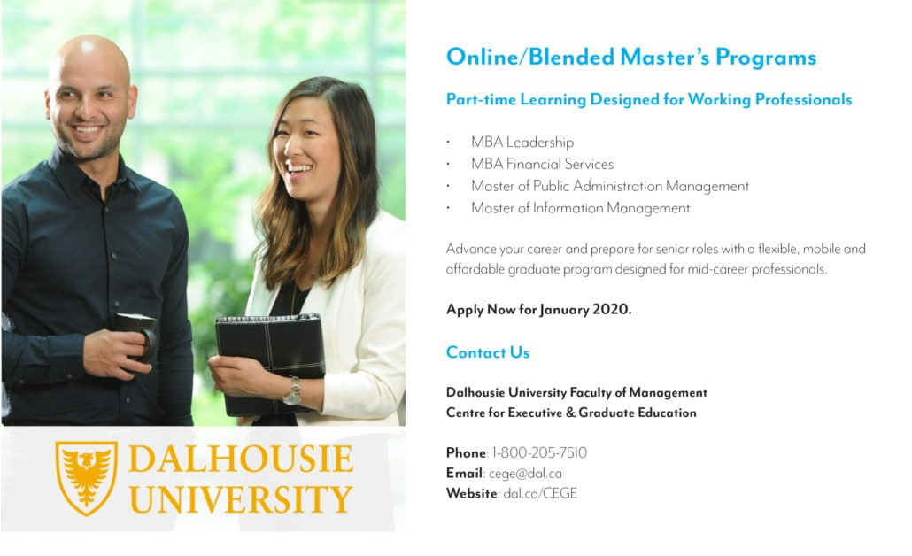 Dalhousie University Rostie Group Scoop Ad