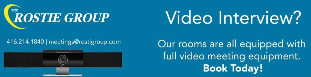 Rostie Group Scoop Video Conferencing Ad