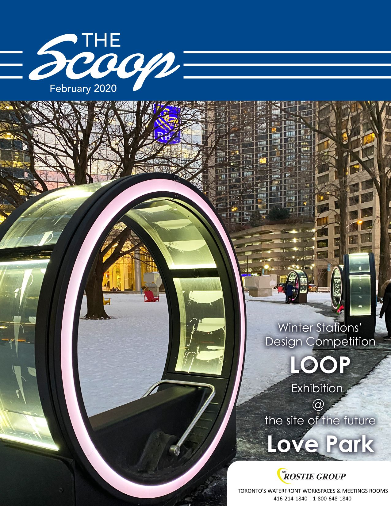 Rostie Group Scoop February 2020 Cover