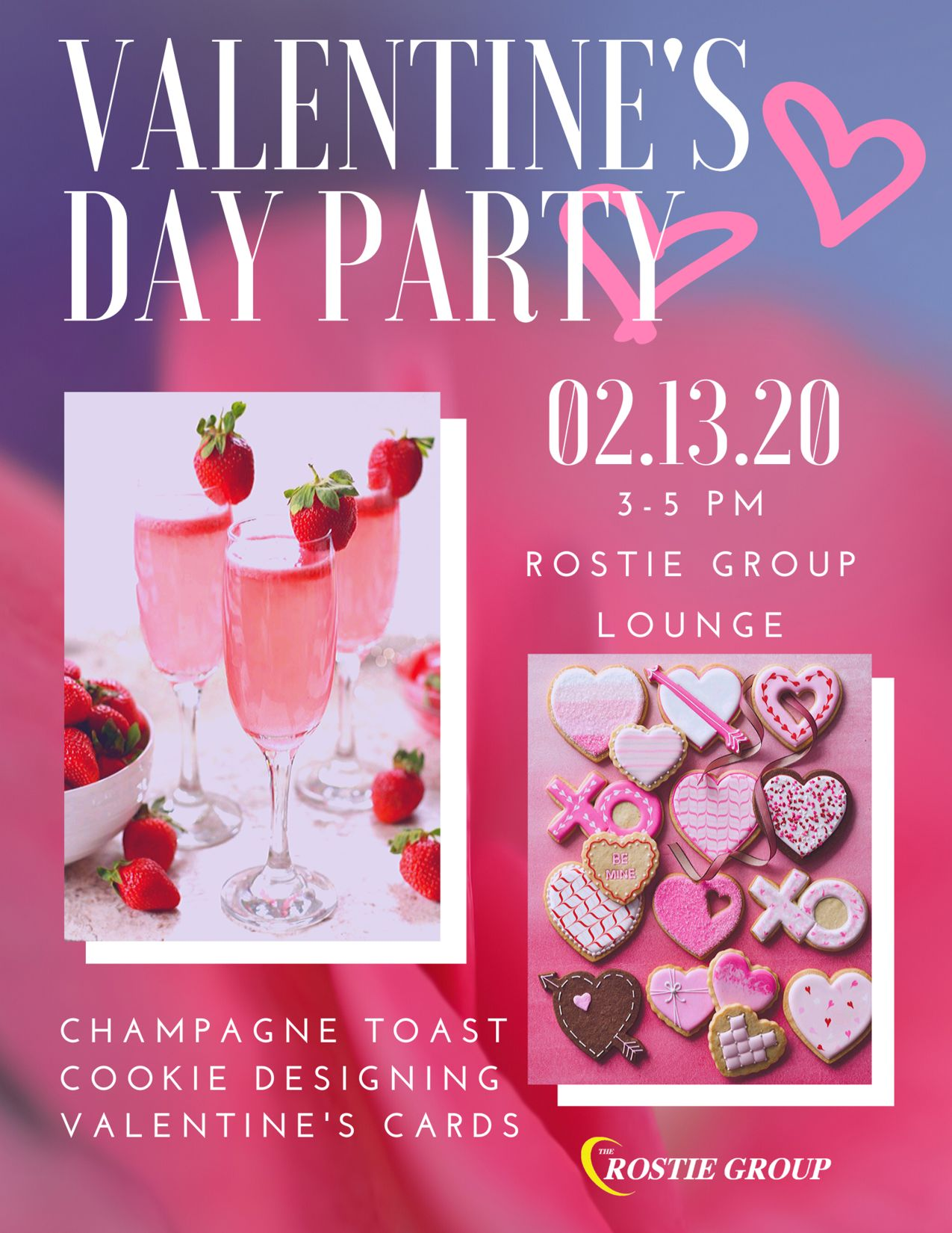 Valentine's Day Event Rostie Group Scoop Ad