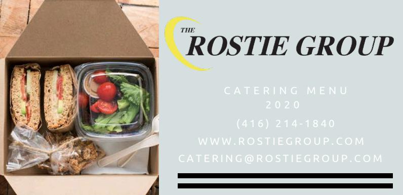 Toronto Meetings – 2020 Catering Menu